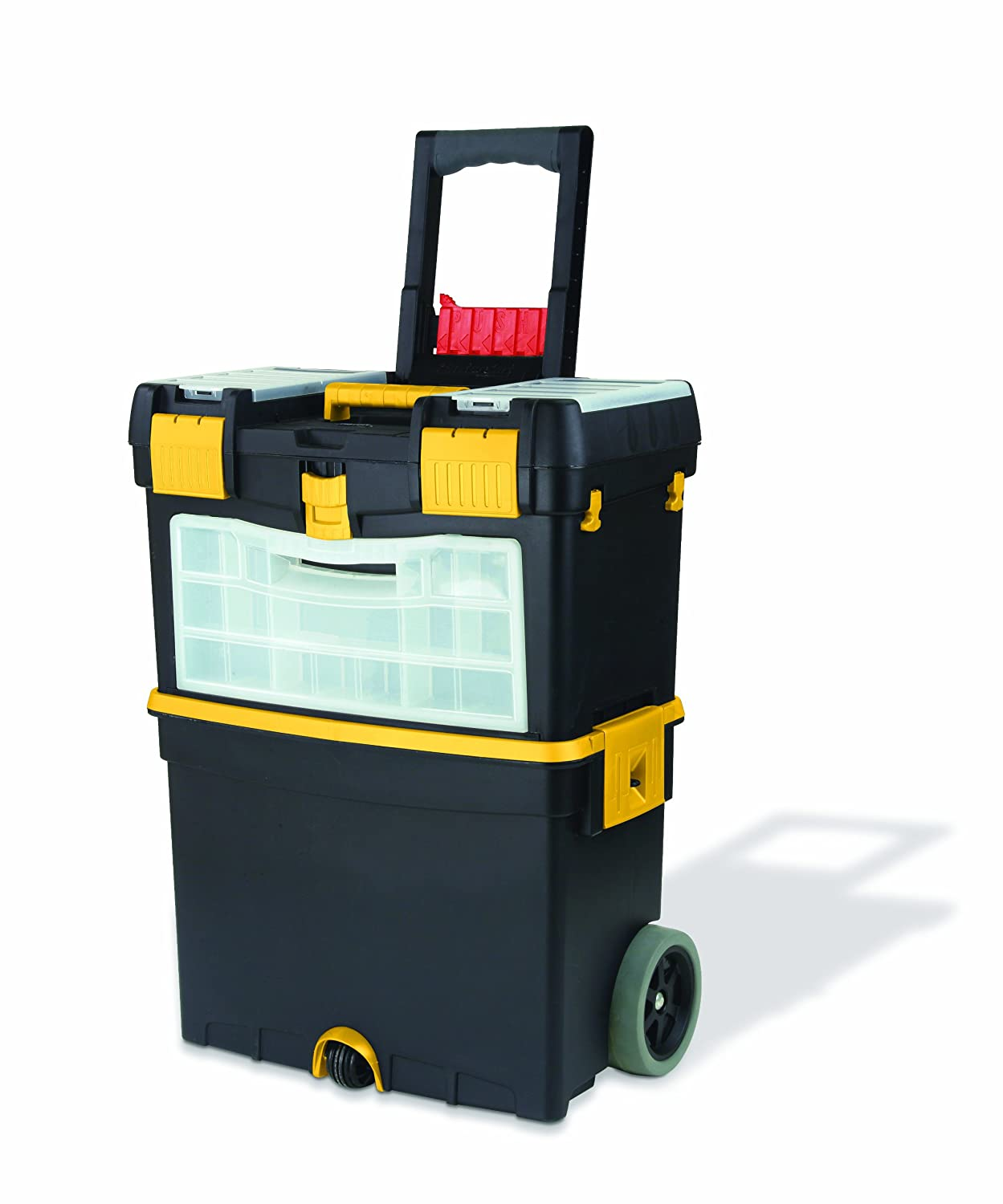 Keter Mastercart 18.1 X 33.1 X 10.8 In. Multiple Storage Plastic Portable  Tool Cart   Toolboxes   Amazon.com