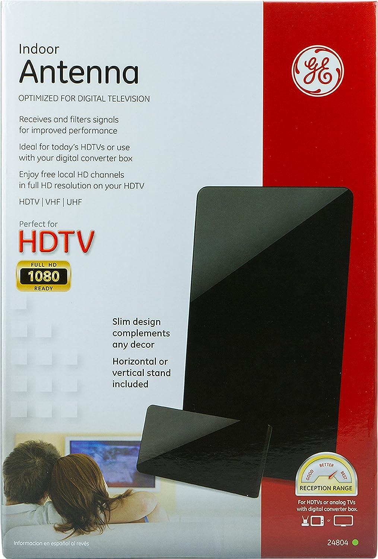 Indoor VHF GE 24804 Indoor Antenna UHF HDTV Antenna