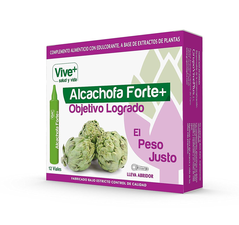 Vive+ Alcachofa Forte+ - 2 Paquetes de 12 Unidades: Amazon.es: Salud y cuidado personal