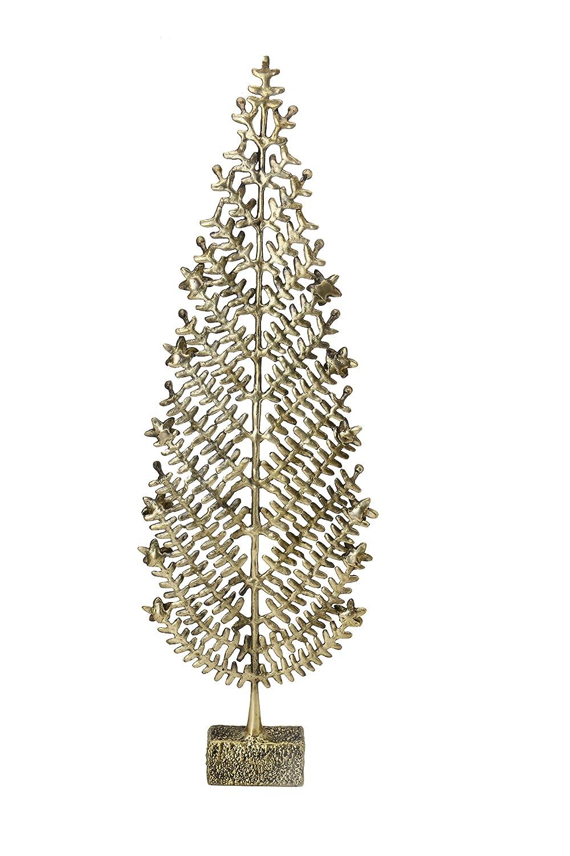 Bharat Haat Árbol de Navidad de latón arte de colección de artesanía BH06565: Amazon.es: Hogar