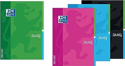 Oxford Openflex - Pack de 10 libretas grapadas de tapa blanda, A4 ...
