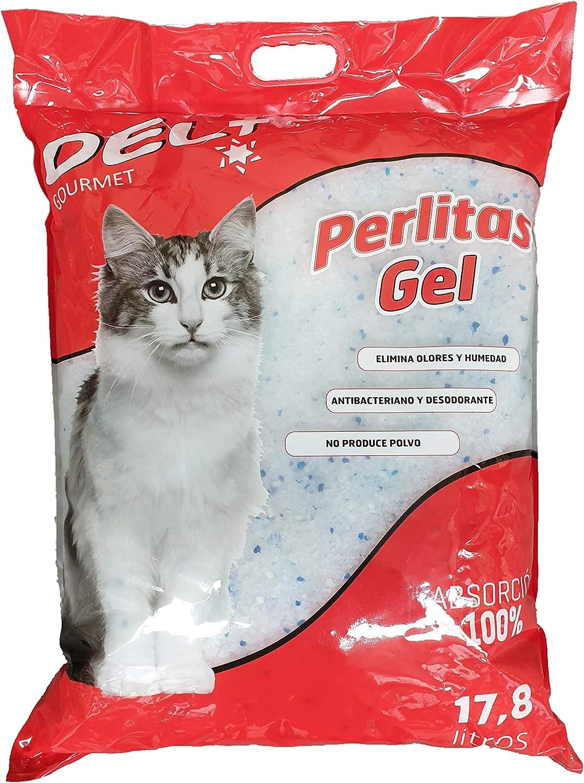 DEL+ Arena Gel SILICE para Gatos 17,8 litros (7,150KG): Amazon.es ...