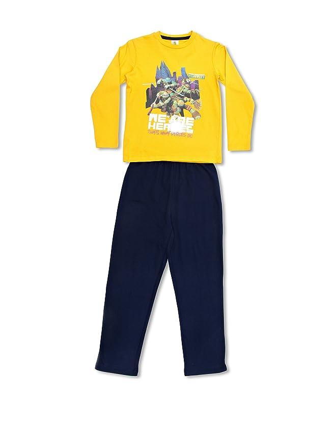 Licencias Pijama Tortugas Ninja Amarillo/Azul Marino 4 años ...
