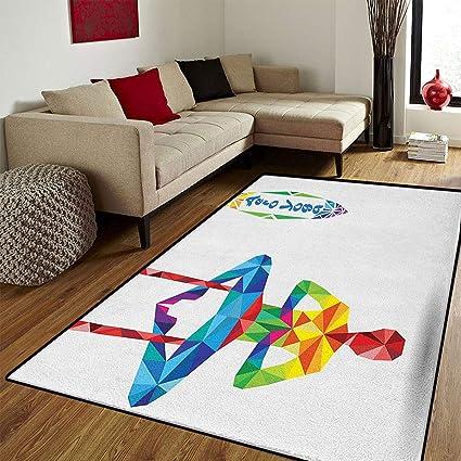 Amazon.com: Yoga,Bath Mats Carpet,Aerial Aero Anti-Gravity ...