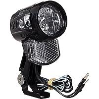 AXA Światło przednie Blueline 30 ND lampa ostrzegawcza, kolor czarny