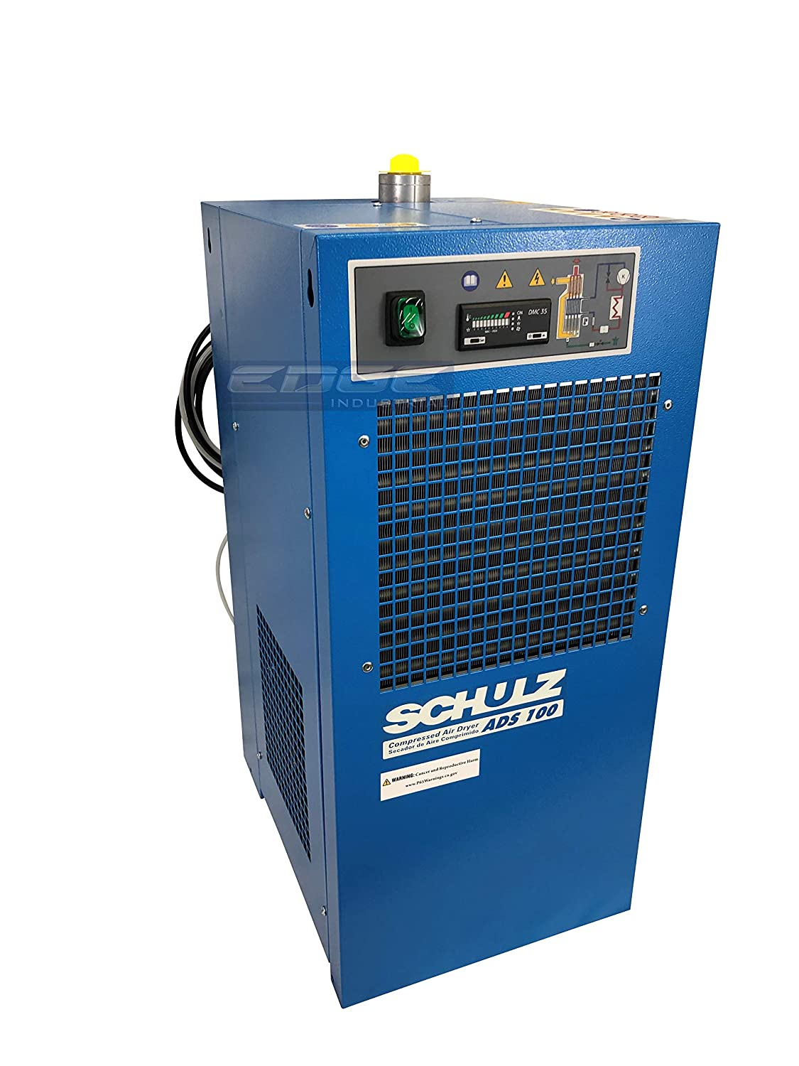 Compressed AIR Systems Schulz REFRIGERATED AIR Dryer for AIR Compressor with Regulator PRE-Filter 100 CFM Good for 20HP /& 25HP COMPRESSORS