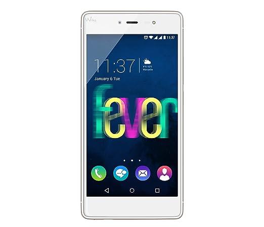 845 opinioni per Wiko Fever 4G Smartphone, 16 GB, Dual SIM, Bianco