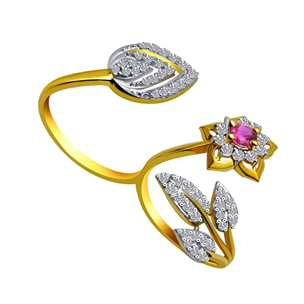 P.C. Chandra Jewellers 14KT Yellow Gold Ring for Women Rings