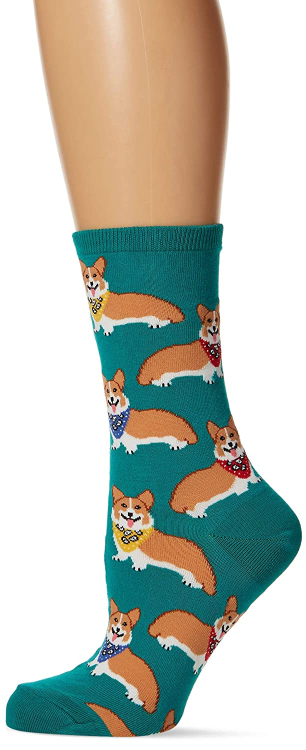 Socksmith Corgi Emerald Socks Socksmith Design WNC387