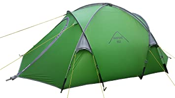 everest1953 Geodesic expedition Tent * 3 Person * TrekPeak3 light silicone coated green  sc 1 st  Amazon UK & everest1953 Geodesic expedition Tent * 3 Person * TrekPeak3 light ...