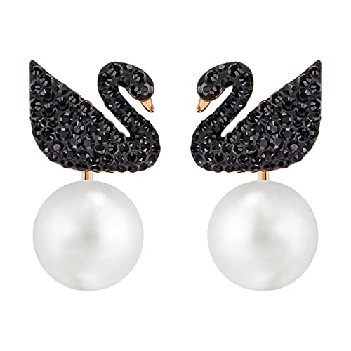 Swarovski Iconic Swan Earrings – 5193949