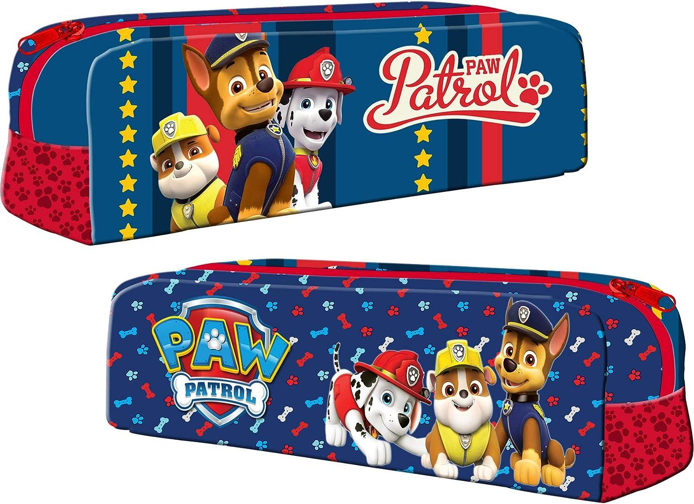 Paw Patrol - Estuche infantil (20 cm), diseño de Paw Patrol: Amazon.es: Oficina y papelería
