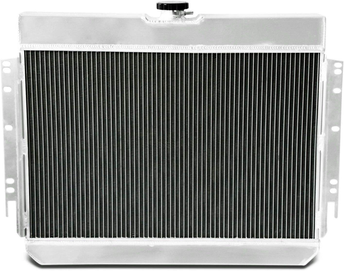 12 Fans for 1963-1968 Chevy Multiple Models Bel Air Caprice El Camino Impala Louver Shroud CoolingCare 4 Row Radiator