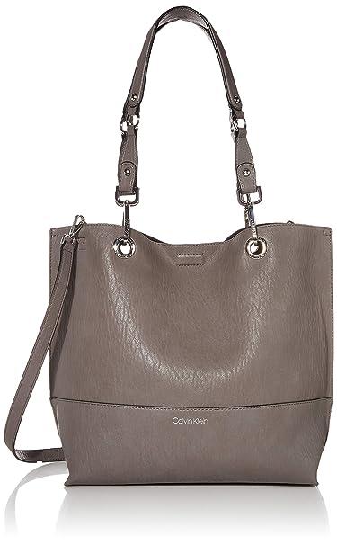Amazon.com: Calvin Klein Sonoma - Bolso reversible, Gris ...
