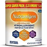 Enfamil Nutramigen Hypoallergenic Colic Baby Formula Lactose Free Milk Powder, 27.8 ounce - Omega 3 DHA, LGG Probiotics…