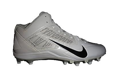 d8de23a389a1 Nike Alpha Pro 3 4 TD White Men s Football Cleats 10 US