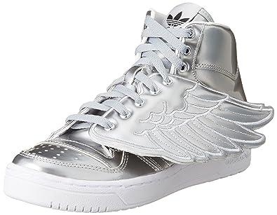 adidas Hi Tops Wings Metal Schuh Silver Met. 38 23