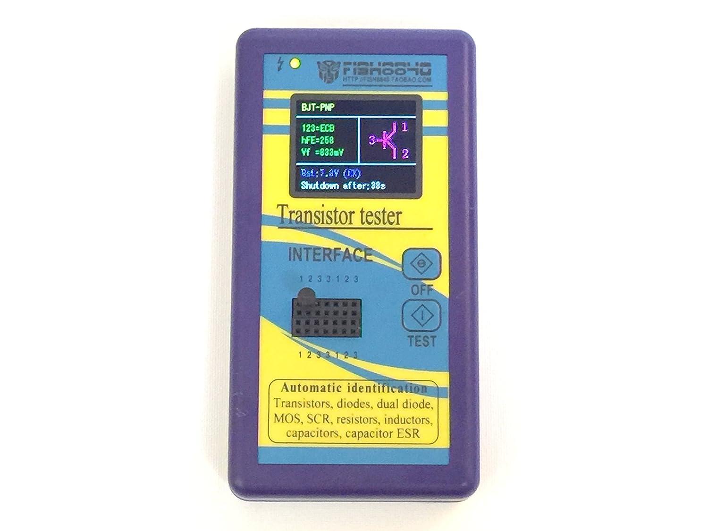 Kuman Multifunction Transistor Tester With 18 Inch Lcd Tft Display Thyristor Mega328 Npn Pnp Automatic Identification