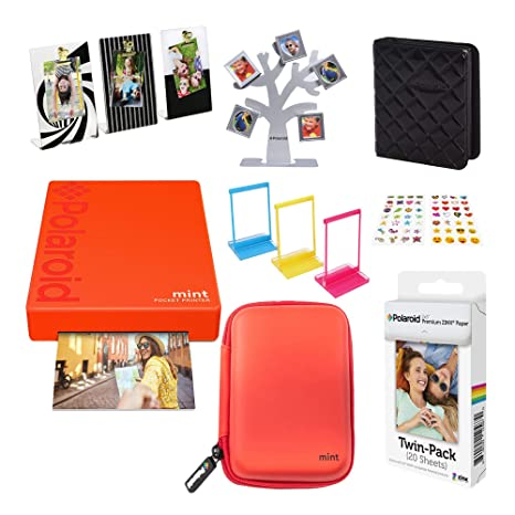 Polaroid Mint Impresora de Bolsillo Inalámbrica (Rojo) Kit ...