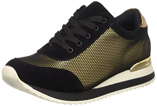Sneakers, Zapatillas para Mujer, Negro, 37 EU Prima Donna