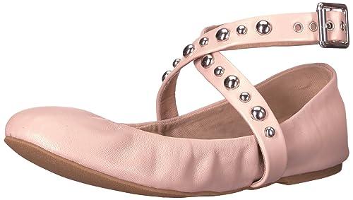 c96ec81201c Steve Madden Womens Mollie Studded Ballet Flat Shoes
