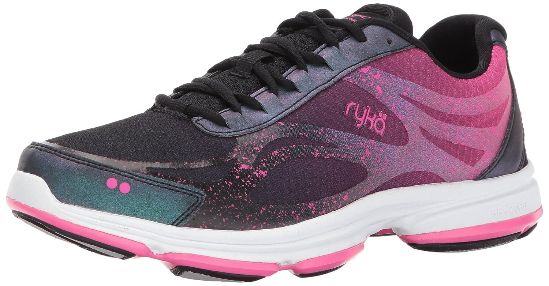 Ryka Women's Devo Plus 2 Walking Shoe B071YS94LH 5.5 B(M) US|Black/Pink