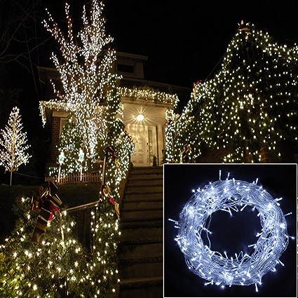 qinuke 24v waterproof warm whitewhite fairy lights christmas lighting led string lights for christmas