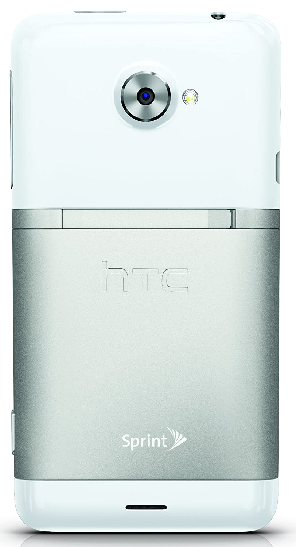 amazon com htc evo lte white 16gb sprint cell phones