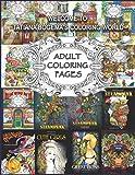 Welcome To Tatiana Bogema's Coloring World: 50 Adult Coloring Pages from Tatiana Bogema (Stolova) books