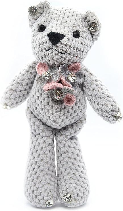 Free and Small Teddy Bear Keychain Amigurumi Pattern Ideas - Free ... | 741x433