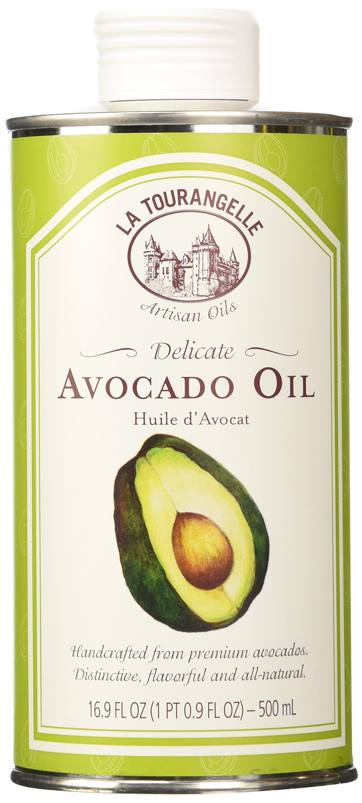 La Tourangelle Avocado Oil, 16.9 Ounce Tin - Pack of 3
