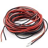 PsmGoods 32 Feet 22 Gauge Silicone Wire Super Flexible Silicone Rubber Wire Cable 22 AWG Silicone Wire 16 Feet Red/16 Feet Black (22 Gauge)
