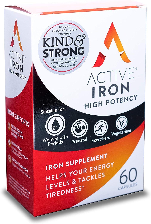 Amazon.com: Hierro activo: suplementos de hierro de alta ...