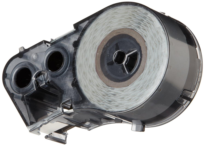 For BMP51//BMP53 Printers 25/' Width x 1//2 Height Brady Worldwide Inc Brady MC-500-584-YL Reflective Tape B-584 Black on Yellow Reflective Label Maker Cartridge 25 Width x 1//2 Height