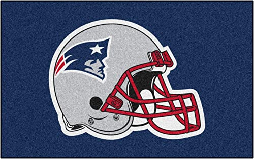 FANMATS NFL New England Patriots Nylon Face Ultimat Rug