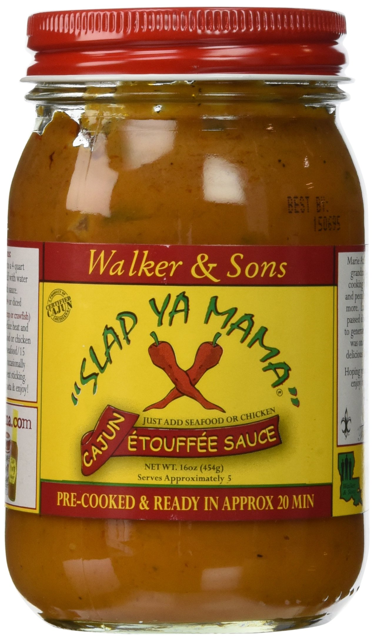 Slap Ya Mama Sauce Cajun Etoufee, 16 oz