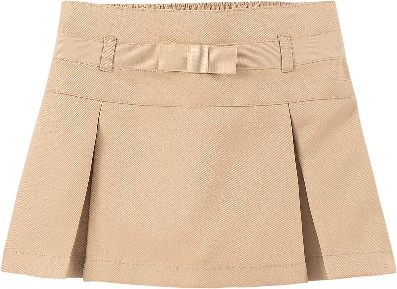 IZOD Girls' School Uniform Pull-on Scooter Skirt: Clothing
