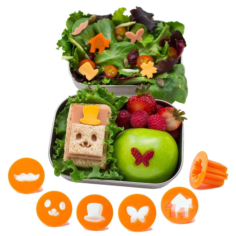 amazon com cutezcute fun vegetable cutter flower butterfly house
