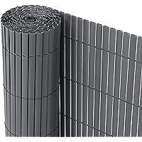 Ribelli® PVC privacyscherm - Zichtbrekend hek - Windbescherming voor balkons, kleur:antraciet, lengte:3 meter, hoogte:80…