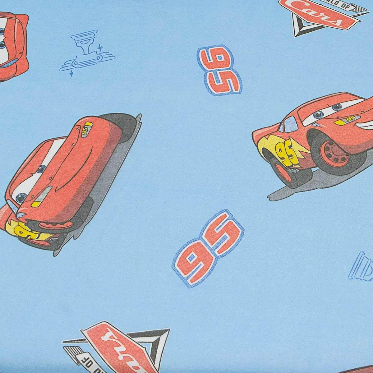 Tenda Disney Cars Velo al metro altezza 300 cm - Celeste M752