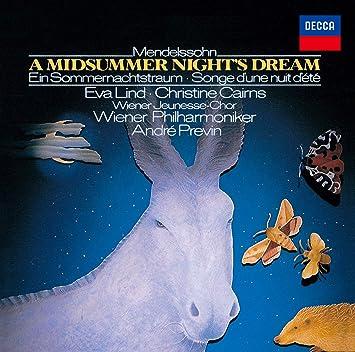 メンデルスゾーン:劇音楽《真夏の夜の夢》 (SHM-CD)