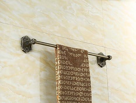 ZYZX Barra de Toalla de baño baño de Acero Inoxidable Estanterías de Pared Anillo de Toallas