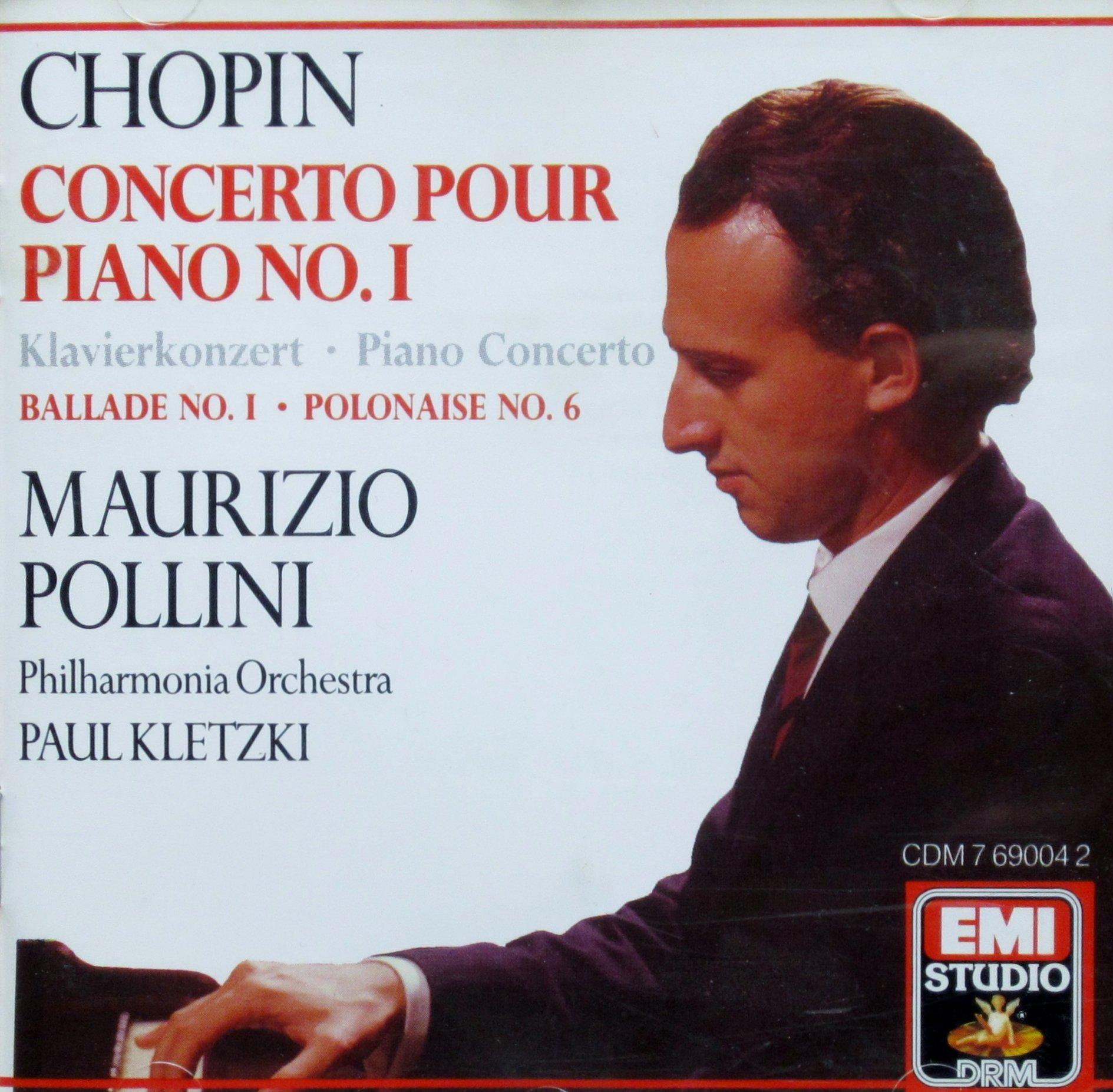 Chopin: Piano Concerto No.1 etc. by EMI (Angel)