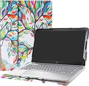 """Alapmk Protective Case Cover for 15.6"""" HP Pavilion 15 15-auXXX (15-au000 to 15-au999,Such as 15-au123cl) Laptop(Warning:Not fit Pavilion 15 15-abXXX/15-ccXXX/15-csXXX/15-bcXXX Series),Love Tree"""
