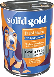 product image for Solid Gold - Fit & Fabulous - Grain-Free Natural Chicken, Sweet Potato & Green Bean - Holistic Weight Control Dog Food