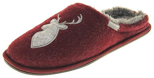 Dunlop Hombre Zapatillas de Invierno Casuales y Calientes: Amazon.es: Zapatos y complementos