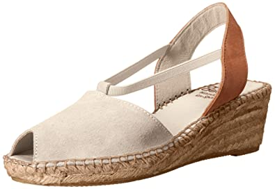 4af7ae0a28b André Assous Women's Dainty-aa Espadrille Wedge Sandal