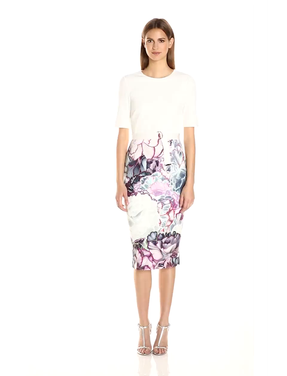 Amazon Ted Baker Womens Stephie Illuminated Bloom Contrast
