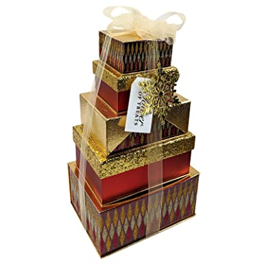 Luxury Christmas Gift Tower Of Treats