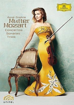 Amazoncom Anne Sophie Mutter Mozart Violin Concertos Sonatas